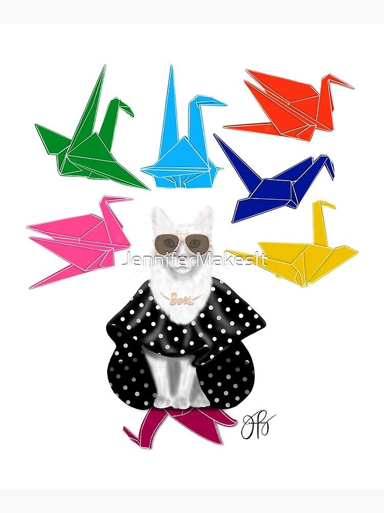Boss Babe Origami Birds by JenniferMakesIt