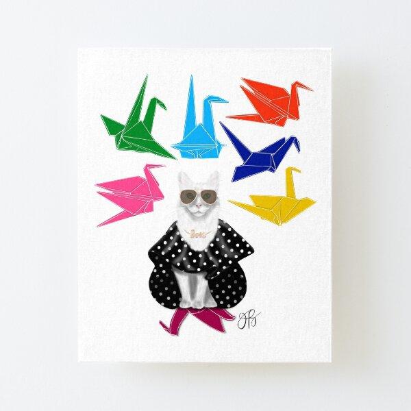 Boss Babe Origami Birds Canvas Mounted Print
