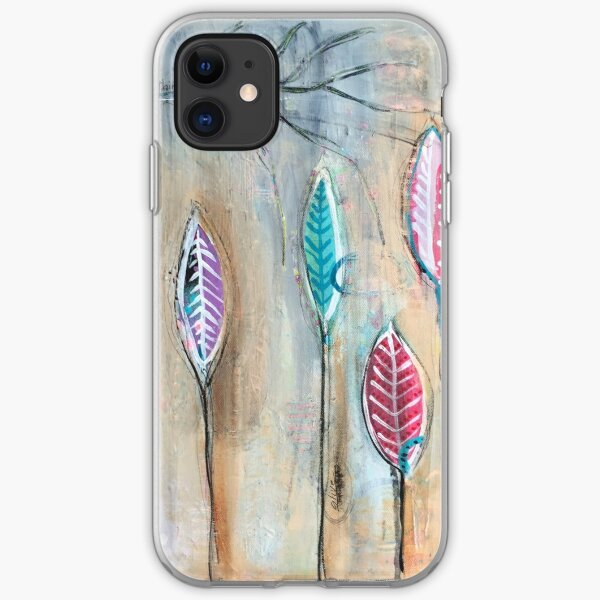Autumn Blooming iPhone Soft Case