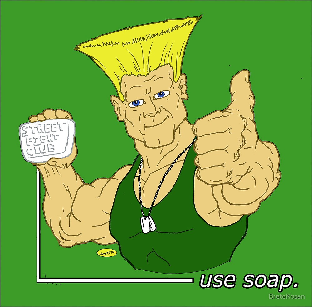 American hero says Use soap by BreteKosan