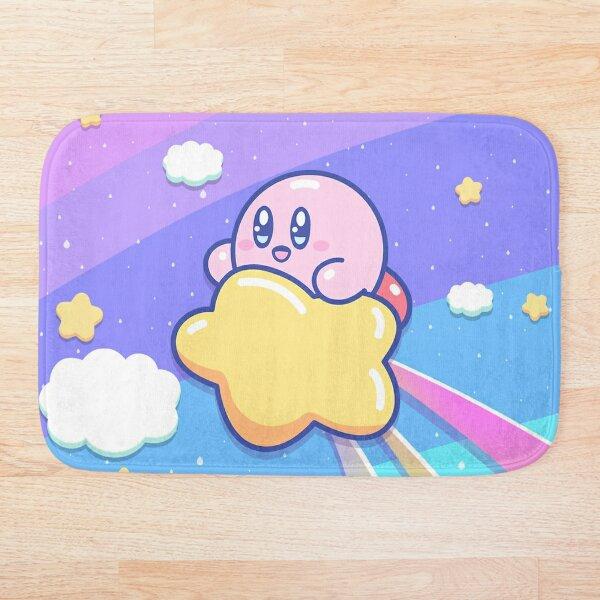 Kirby Flying UP the SKY Bath Mat