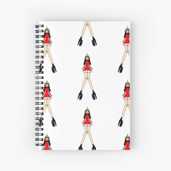 Long Legged Queen Spiral Notebook