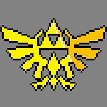 Hylian Crest by von-bats