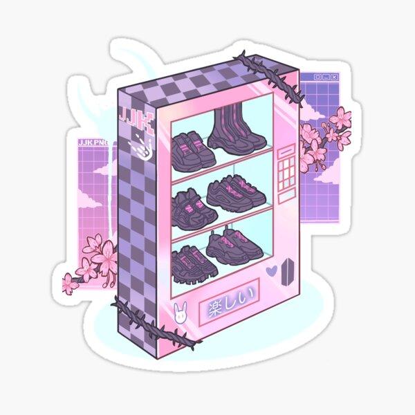 Jungkook's vending machine  Sticker
