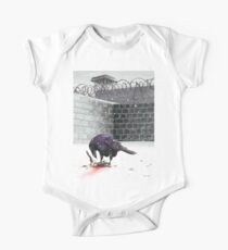 Crow, Bloody Snow Kids Clothes