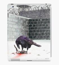 Crow, Bloody Snow iPad Case/Skin