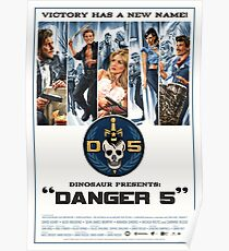 Danger 5 Official Poster Poster