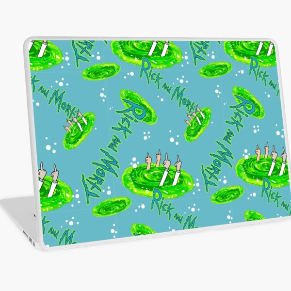 Rick and Morty Laptop Skin