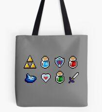 Zelda Items Tote Bag