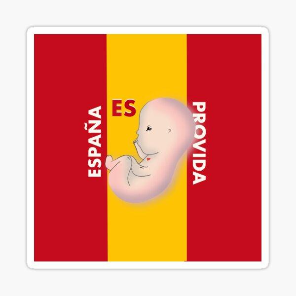 España es Provida Pegatina