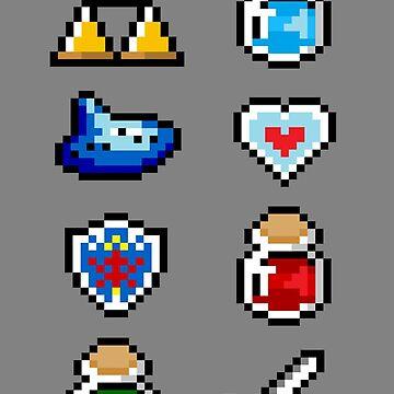 Zelda Items V.2 by von-bats