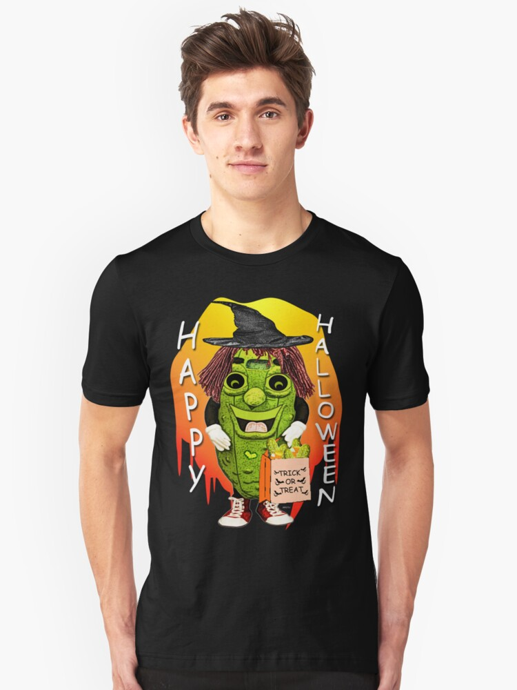 Happy Halloween With Dolly Dill Unisex T-Shirt Front