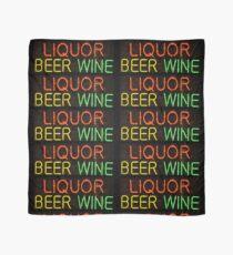Liquor Beer Wine Sign Scarf