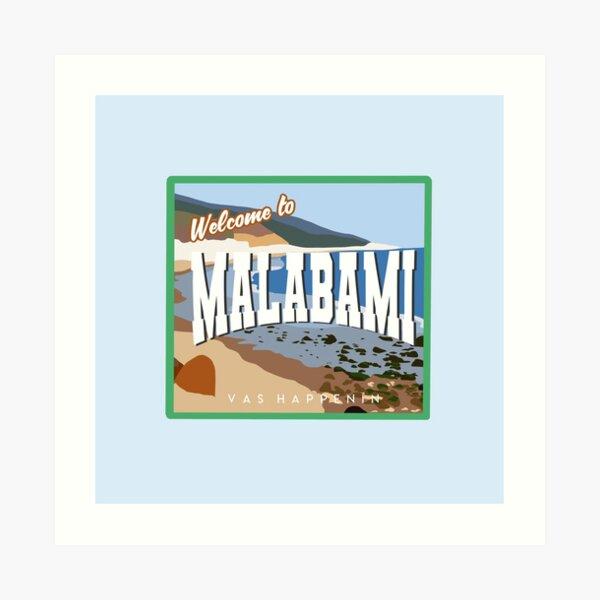MALABAMI // ONE DIRECTION // ZAYN MALIK Art Print