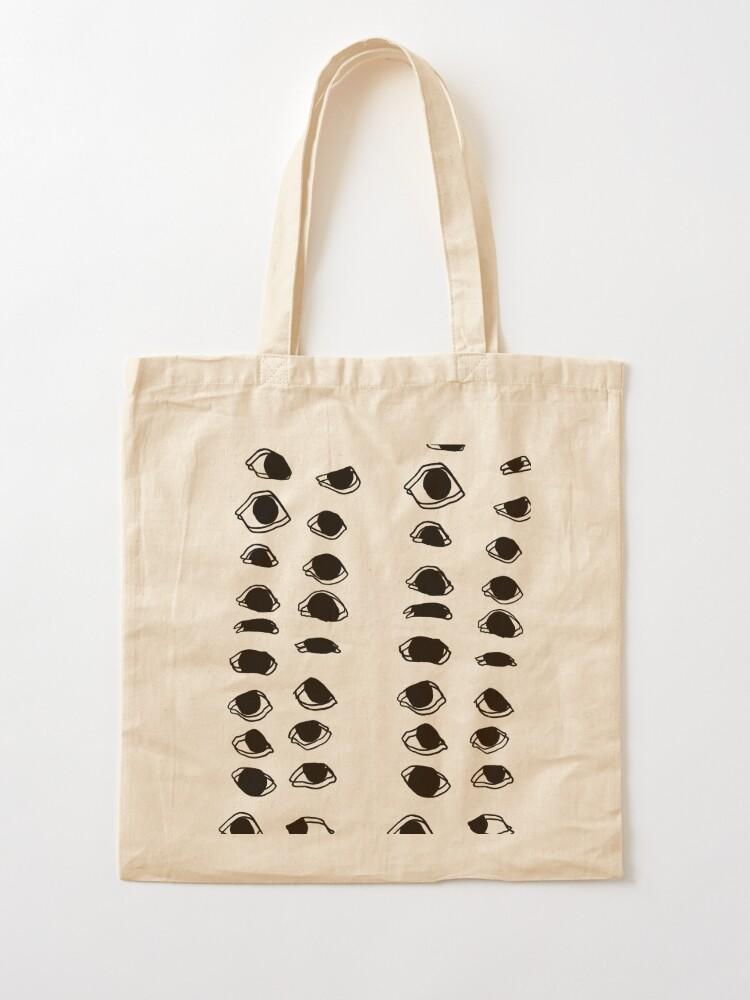 abstract painting canvas design shopping shopping bag Tote Bag