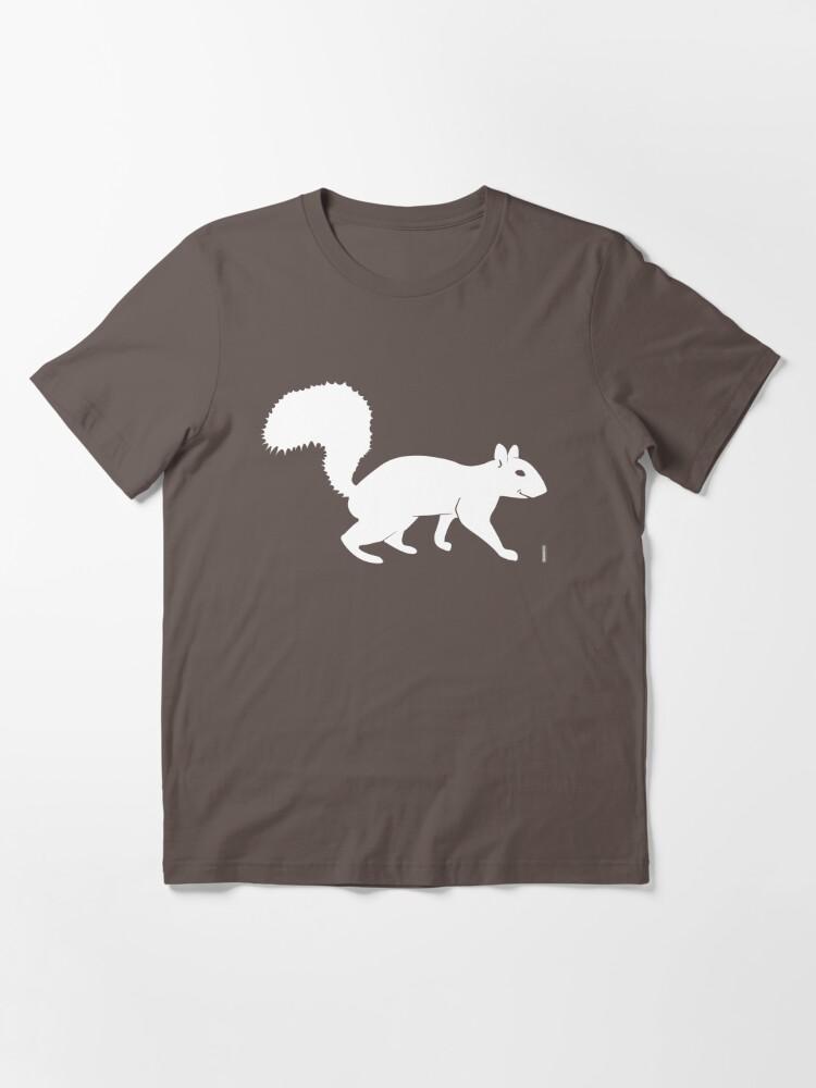 Alternative Ansicht von Weißes Eichhörnchen Essential T-Shirt