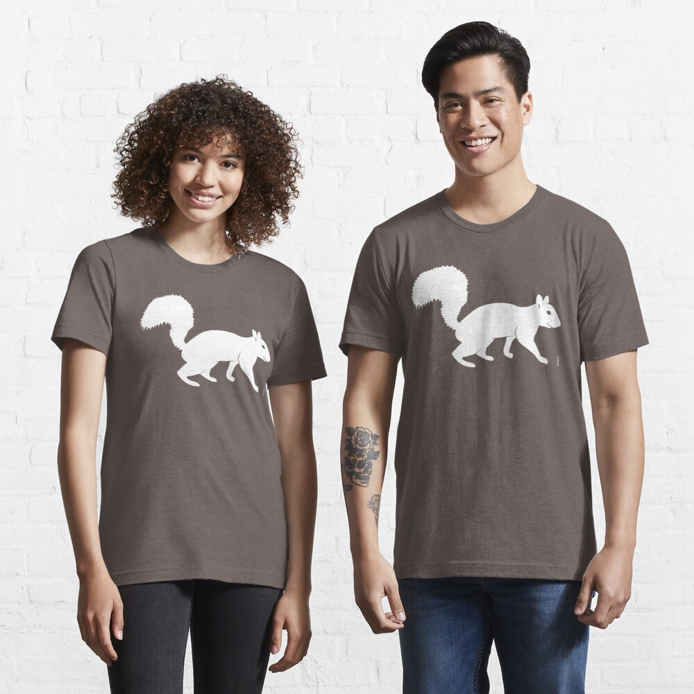 Weißes Eichhörnchen Essential T-Shirt