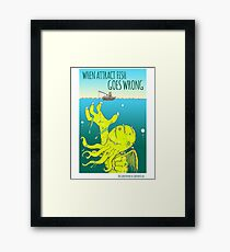 Attract Fish (3) Framed Print