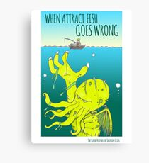 Attract Fish (3) Canvas Print