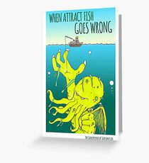 Attract Fish (3) Greeting Card