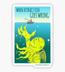Attract Fish (3) Sticker