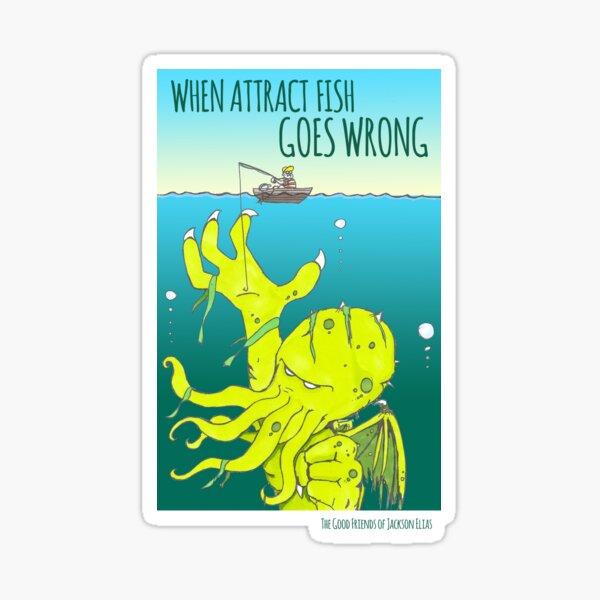 Attract Fish (3) Sticker
