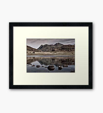 Early Morning at Blea Tarn Framed Print