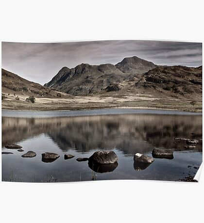 Early Morning at Blea Tarn Poster