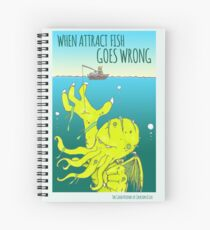 Attract Fish (3) Spiral Notebook