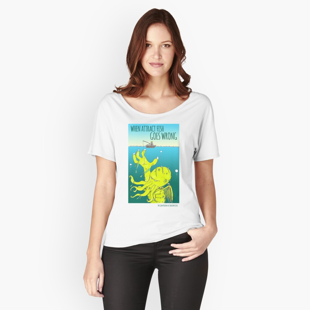 Attract Fish (3) Relaxed Fit T-Shirt