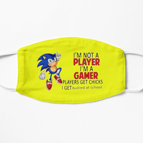 Amazing gamer t-shirt Flat Mask
