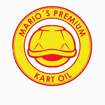 Mario's Premium oil. by designsbygaunty