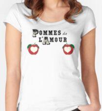Pommes de l'Amour Women's Fitted Scoop T-Shirt