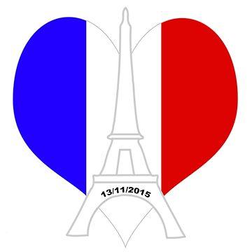 Pray for Paris by Bekah