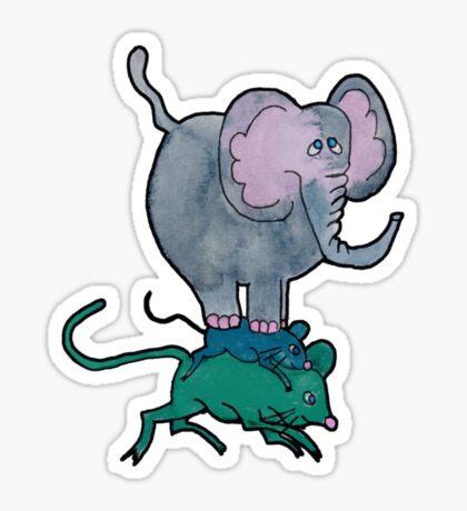 Ganesha's Double Ride Sticker