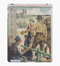 The Equitable Trust Company of New York Emprunt National 5 920 Souscrivez! iPad Case/Skin