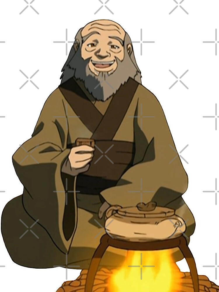 Uncle Iroh Sitting For Tea Avatar by blueeyes374