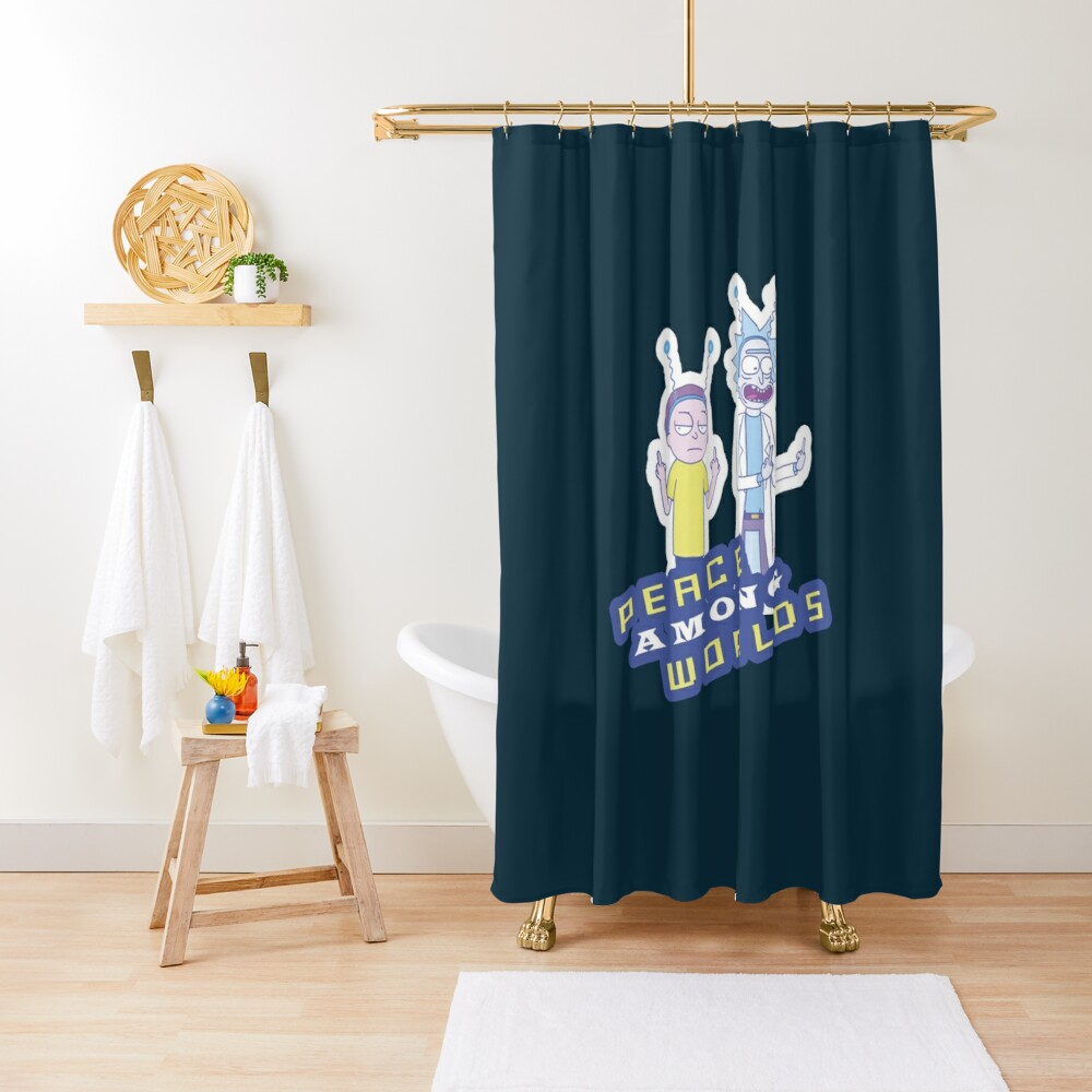 Peace Among Worlds  Shower Curtain