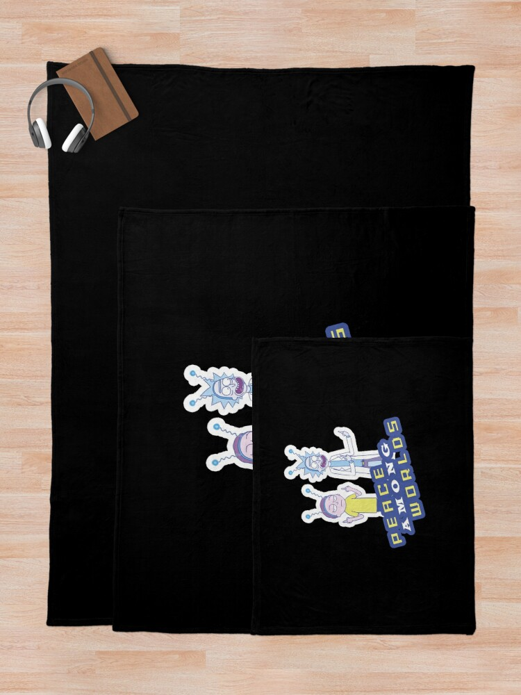 Alternate view of  Peace Among Worlds  Throw Blanket