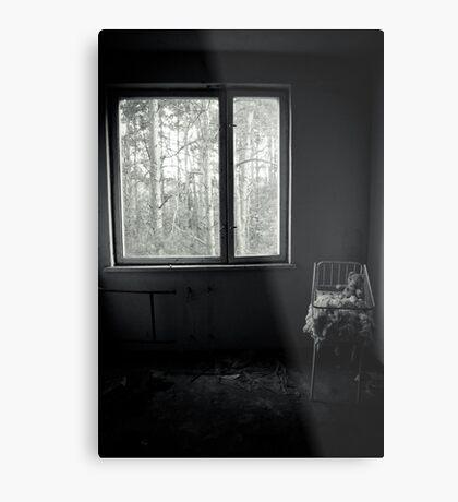 By the Window Metal Print