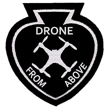 Drone From Above Vintage Style Patch by drquest