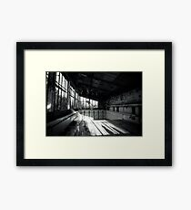 High Board Framed Print