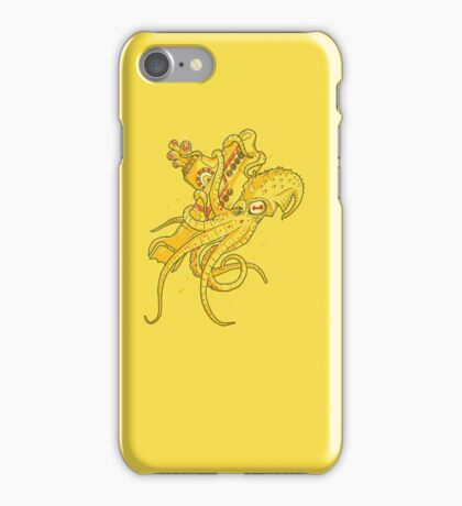 yellow Kracken iPhone Case/Skin
