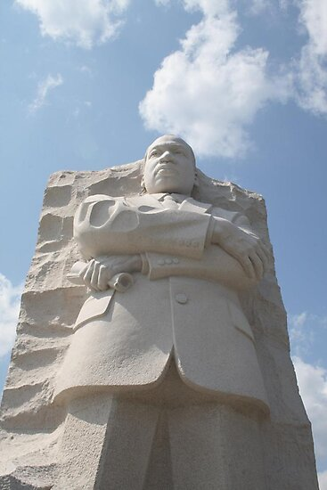 Dr Martin Luther King Jr's Memorial Washington DC by albyw