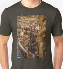 France. Paris. Opera Garnier. Chandelier. Unisex T-Shirt