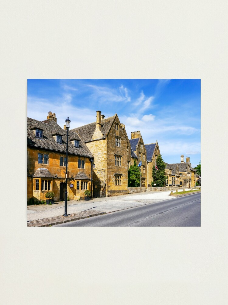 Alternate view of Broadway, The Cotswolds Photographic Print