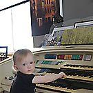 first time organ player by Klaus Bohn
