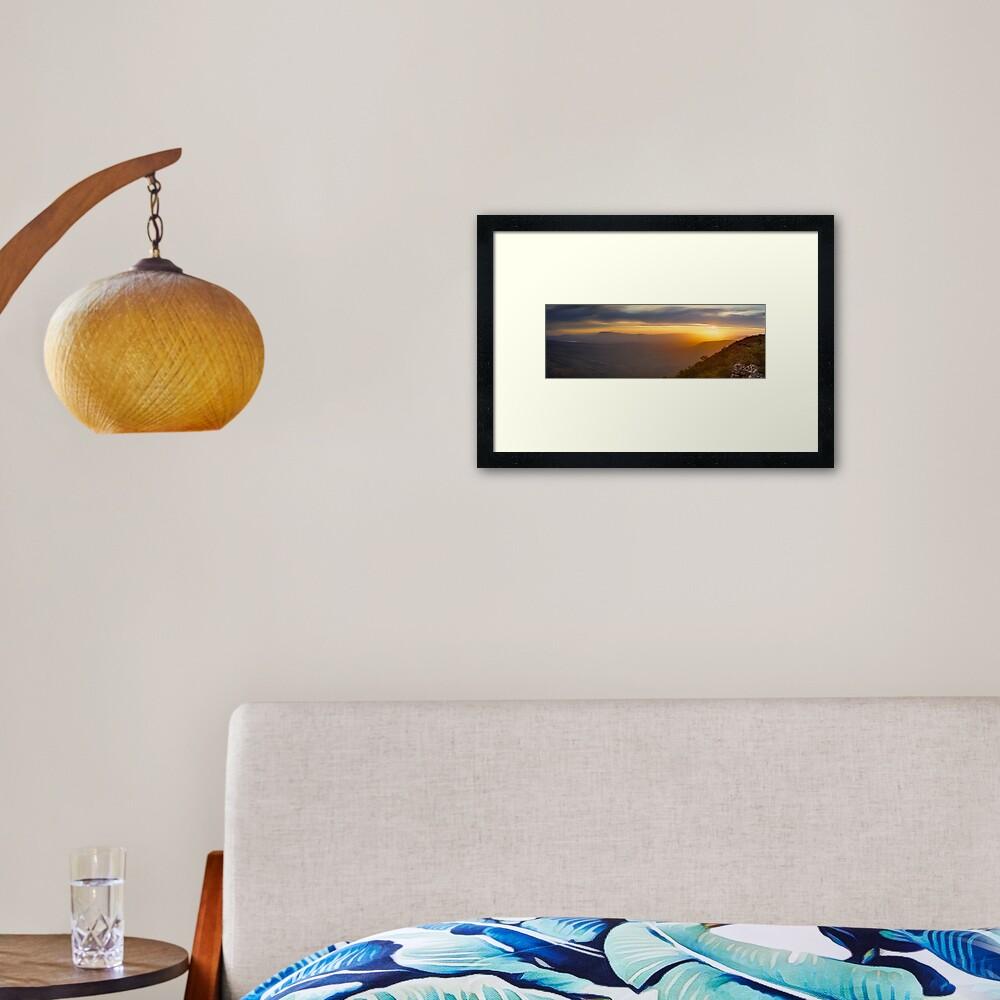 Reeds Lookout, Grampians National Park, Victoria, Australia Framed Art Print