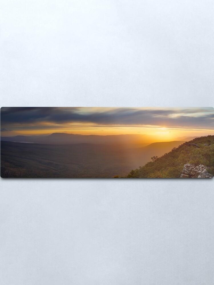 Alternate view of Reeds Lookout, Grampians National Park, Victoria, Australia Metal Print