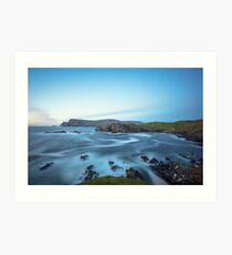 Glen Head, Glencolmcille Art Print